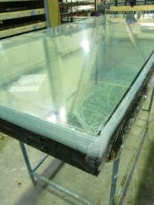 Ударопрочное противопожарное многослойное стекло